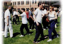 Tai Chi is a socialable activity!